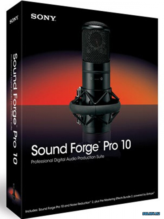 SONY Sound Forge Pro 10.0e Build 507 Portable by punsh (RUS) .